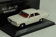 1964 Opel Kapitän A weiss white 1:43 Minichamps