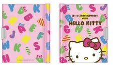New Sanrio Hello Kitty:  Alpha K/T Diary Book Notebook with Key Lock 144 Pages