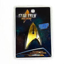 Star Trek Discovery Starfleet COMMAND Magnetic Replica Insignia Division Badge