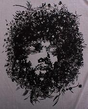 Cool JIMI HENDRIX Man T-Shirt Banksy Guitar Blues Woodstock Graffiti Art Sz S