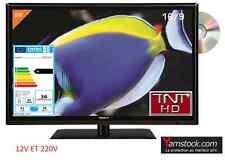 Combiné Télévision + DVD LED 24' ( 61 cm ) TNT HD USB HDMI pour camping car