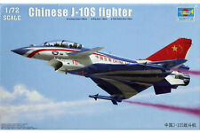 Trumpeter 1/72 Chinese J-10S fighter Twin seater  #01644  #1644