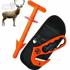 Gut Hook Butt Out Set Hunting Accessories Deer Game Handling Tools Knife Field