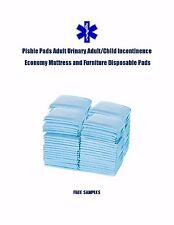 """300 17x24"""" Pishie Adult/Child Disposable Urinary Incontinence Pee Pads"""