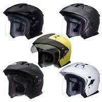 Bell Mag-9 Open Face Helmet with Sun Visor for Sena 10S and SMH10