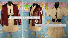 APH Axis Powers Hetalia Female US USA America Cosplay Costume  custom any size