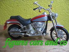 MOTO 1/18 HARLEY DAVIDSON  SOFTAIL DEUCE  2000  HOT WHEELS