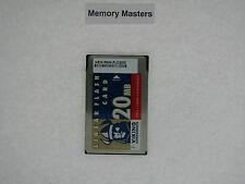 Mem-Rsm-Flc20M 20Mb Approved Pcmcia Linear Flash Card Memory for Cisco 5000/5500