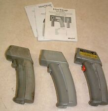 Lot of 3 Raytec Minitemp Infrared Thermometers F.P.O.R.