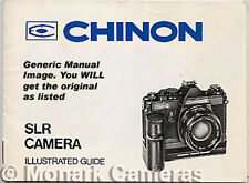 Chinon CE-3 Memotron Camera Instruction Book, More User Guides & Manuals Listed