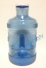 5 Gallon Plastic Water Bottle Drinking Polycarbonate Big Cap Jug Container USA