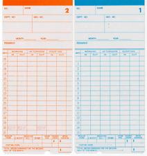 Expandable 25 slots Olivetti Clock Card Rack