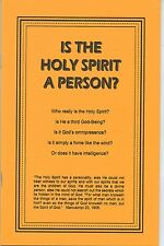 Is The Holy Spirit A Person?~Seventh-day Adventist Issues~Trinity or Godhead~SDA