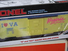 1987 Lionel 6-19901 I Love Virginia Box Car Virginia is for Lovers L0806