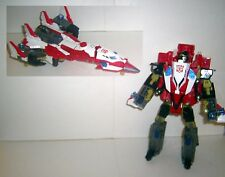 TRANSFORMERS Energon 2004 STORM JET stormjet complete arialbot superion maximus