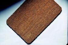 17mm thick BN Top Quality Door Mat PVC Backed Natural Coir Doormat 80cm x 50cm