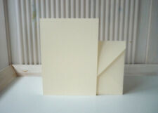 20 Doppelkarten Klappkarten A6 sand + Kuverts 210/120 g/m²