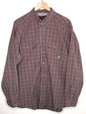Ariat Pro Series Plaid Long Sleeve Button-Down Western Shirt Mens Size: XL