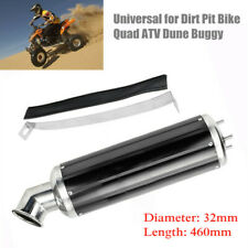 32MM Motorcycle Exhaust Silencer Pipe Muffler for Quad Dirt Bike ATV Off-road