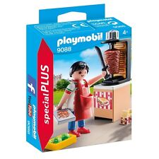 Playmobil Special Plus 9088 Kebab Street Vender Grill Food NEW BOXED Worldwide