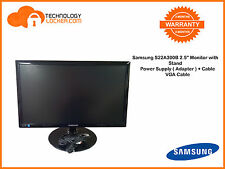 "Samsung S22A300B 21.5"" Monitor with Power Supply + Cable and VGA Cable"