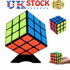 Kids Rubiks Cube Fun Original Toy Rubic Magic Mind Game Classic Rubix Puzzle 3X3