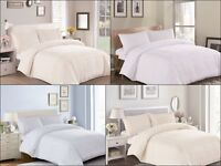 3-Pieces Fame & Pride duvet cover set Modern Design with Matching Pillow shams
