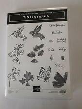 Stampin up ✿ Stempelset Tintentraum ✿ 17 Stempel Kolibri Two Step NEU Vogel