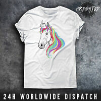 Unicorn T Shirt Middle Finger Rainbow Fuck-Off Legendary Heavy Metal Unicorn