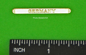 GERMANY BAR CLASP for full size WWII OCCUPATION MEDAL made in the USA