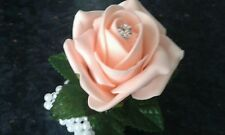Wrist corsage PROM WEDDING *** MOST COLOURS AVAILABLE*****