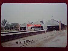 PHOTO  DARLINGTON BANK TOP RAILWAY STATION 1982 (2)