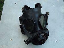 Military 40mm NATO Gas Mask w/Drink Port & Protective Hood, Size Med/Regular NEW