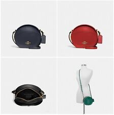 New Coach F27971 Canteen Crossbody Smooth Leather Purse