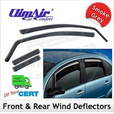 CLIMAIR Car Wind Deflectors JAGUAR XF 4-Door Saloon Mk1 2008-2015 SET (4) NEW