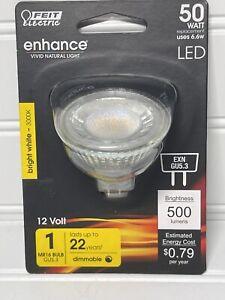 50-Watt Equivalent MR16 GU5.3 Bi-Pin Dimmable CEC Title 20 Compliant LED 90+ CRI