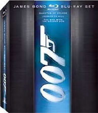 James Bond Blu-ray Set (Quantum of Solace/License to Kill/The Man with the Gun)
