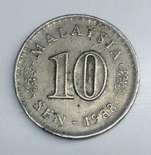 Malaysia 10 Sen 1988