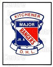 1984-85 Kitchener Rangers #5 Kitchener Rangers, Checklist