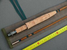 CANNE à MOUCHE Pêche en bambou Refendu Fly fishing Rod Bamboo soie moulinet #5
