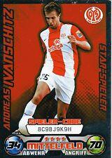 205 Andreas Ivanschitz - Star - 1. FSV Mainz 05 - TOPPS Match Attax 2009/2010