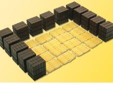 KIBRI HO scale ~ 'PALLETS AND FREIGHT' - 1/87 plastic model kitset #38149
