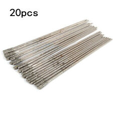 20pcs Solid Diamond Coated Drill Bits Hole Lapidary Needle 1mm For Jewelry Agate