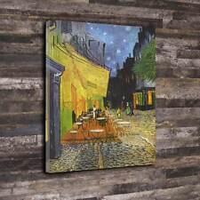 "The Café Terrace Vincent van Gogh 1888 Printed Canvas A1.30""x20"" 30mm Deep Frame"