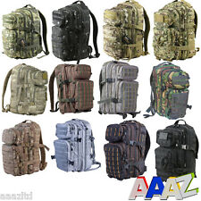 MILITARY 28 LITRE RUCKSACK MOLLE BAG BRITISH ARMY HIKING DAYSACK CADET MTP CAMO