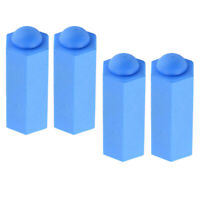 MagiDeal 4 Pack Pool Cue Tip Protector Rubber Cover Snooker Accessories