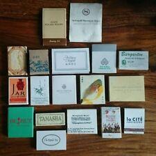 Vintage (Pre-1970) Collectable Matchboxes/Matchbooks