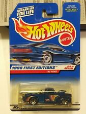 Hot Wheels 1998 First Editions '40 Ford Drag Truck #20 Of 40 1/64 scale