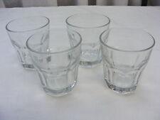 Vintage Libbey Bar Glass Dura Tuff Liquor Rocks Drink Gibraltar 8 oz Set of 4