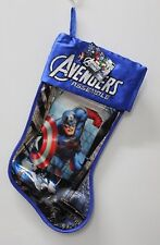 Captain America Avengers Assemble Stocking Christmas Boys Lenticular Heroes New